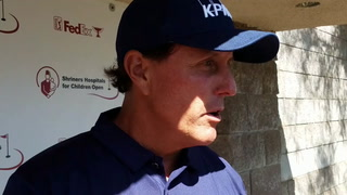 Phil Mickelson is in the hunt at Shriners Open in Las Vegas – VIDEO