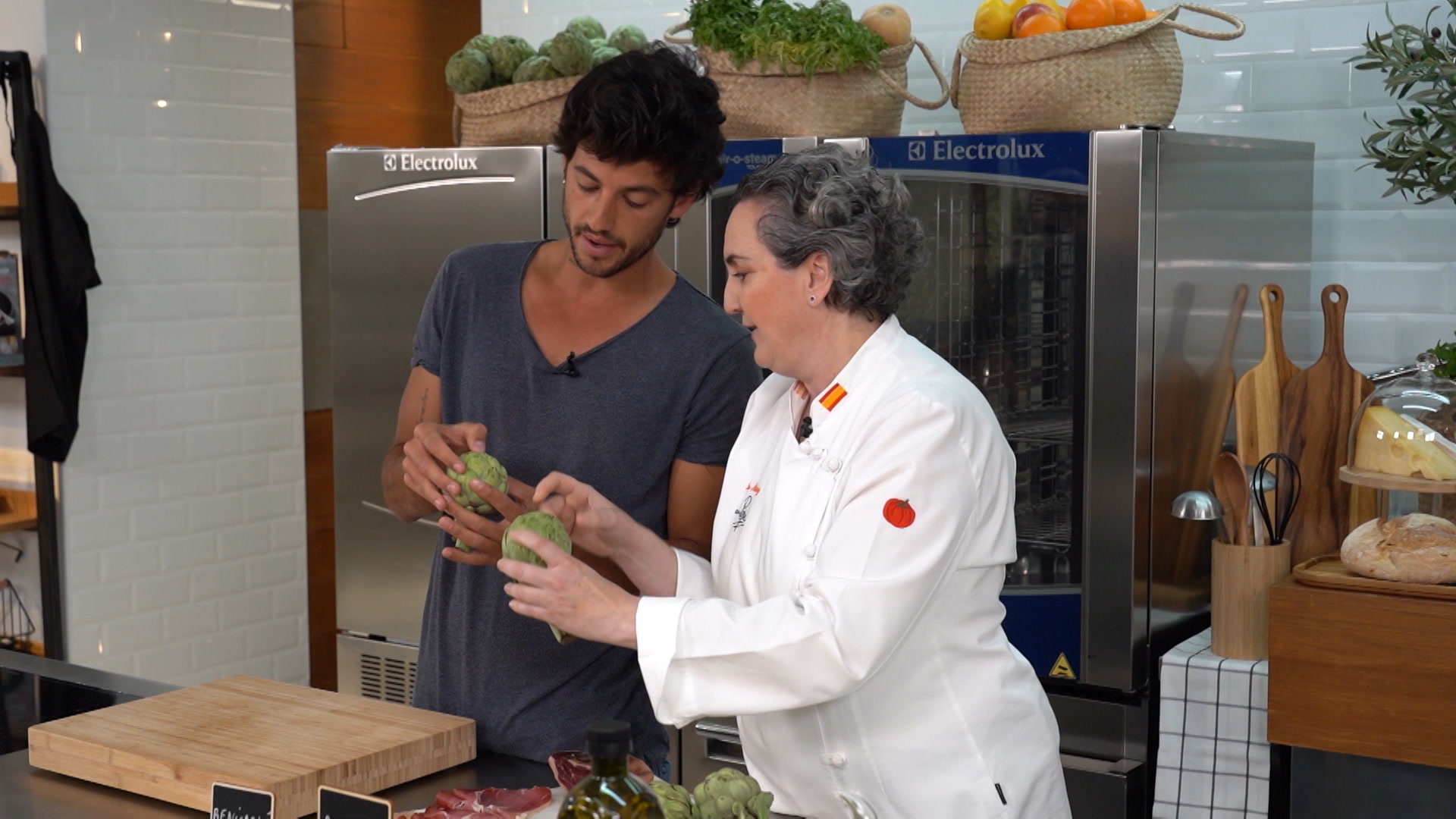 Identifica una alcachofa sana y buena
