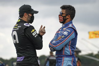 Jimmie Johnson 1st NASCAR driver tests positive for virus – VIDEO