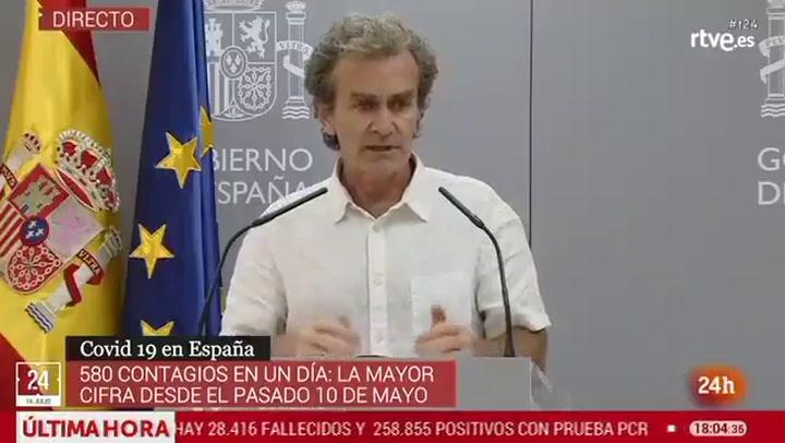 Fernando Simón habla sobre el sacrificio de 92.700 visones de una granja de Aragón por dar positivo en coronavirus