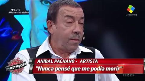 Aníbal Pachano contó que padece cáncer de pulmón