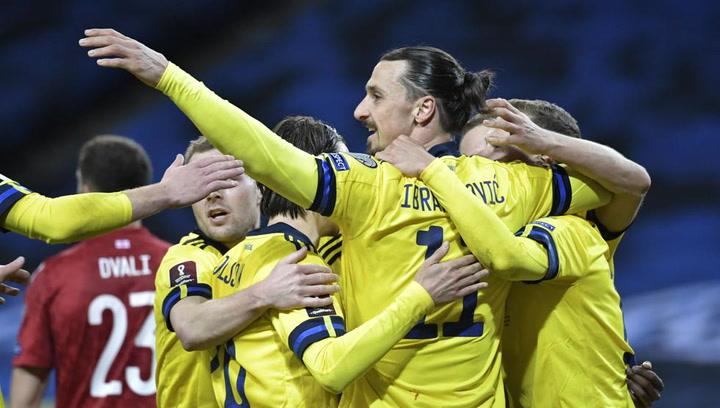 1-0: Ibrahimovic asiste a Claesson para la victoria de Suecia