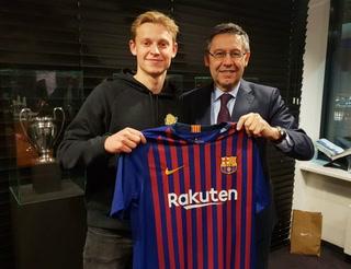 Así juega Frenkie de Jong, nuevo fichaje del Barcelona