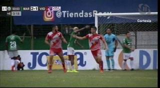¡GOOL DEL VIDA! Al minuto 90 Esdras Padilla de cabeza empata el juego 2-2 con Marathón