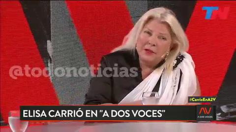 Carrió anunció que no se presentará como candidata a senadora nacional