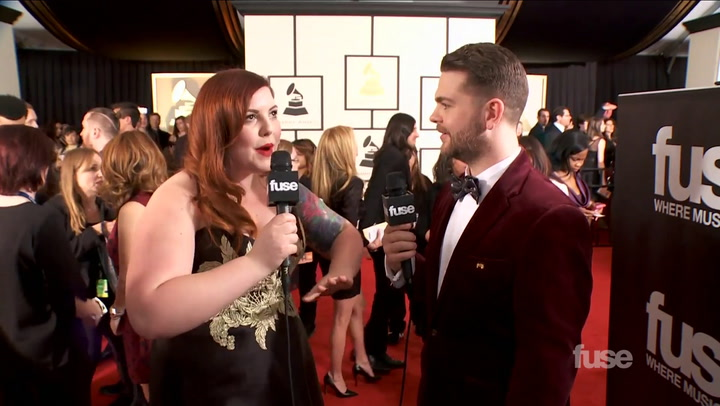 "Mary Lambert Talks Macklemore's ""Same Love"" & Madonna GRAMMY Performance on Red Carpet"