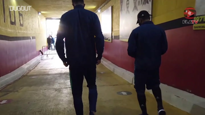 Behind the scenes of Flamengo's victory over Barcelona SC