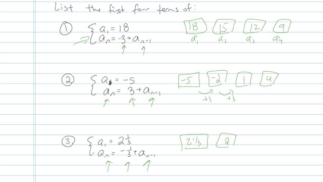 Arithmetic Sequences - Problem 10