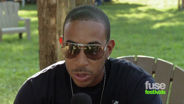 Ludacris On Usher And Ludaversal (Bonnaroo 2012)