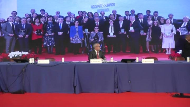 La rueda de prensa telemática del presidente del COE Alejandro Blanco