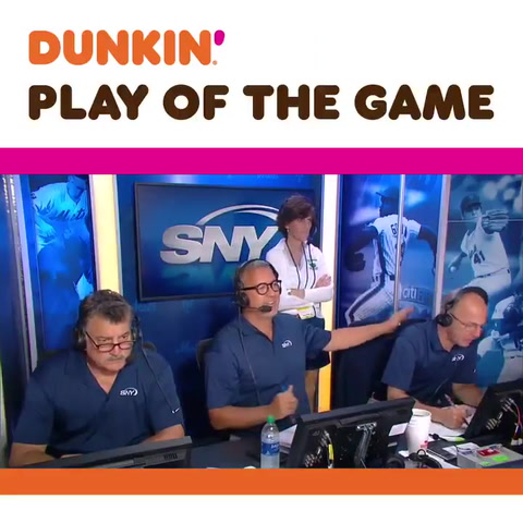 SNY Booth Cam: Juan Lagares hits a Grand Slam and another HR later!