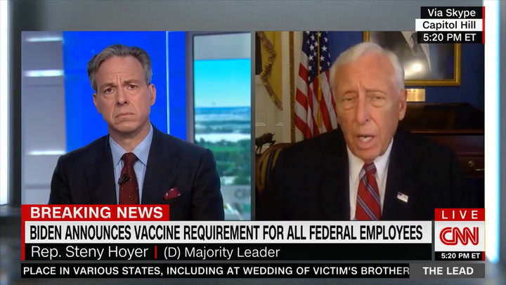 Hoyer: AOC Has 'Good Point' about Racial Composition of Infrastructure Negotiators