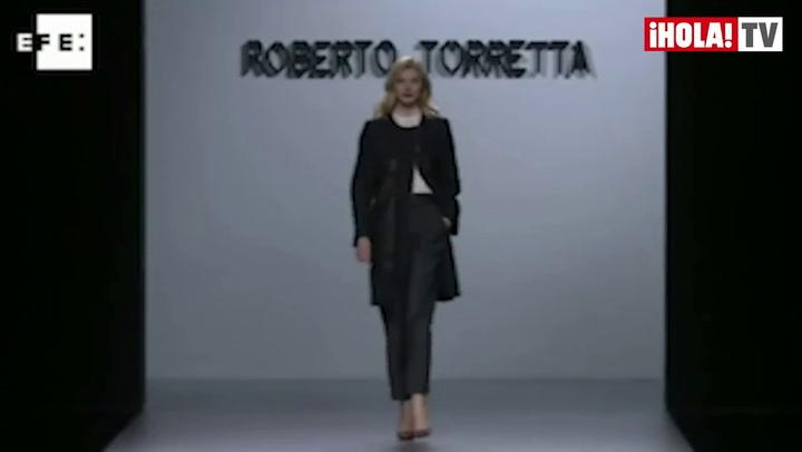 Fashion Week Madrid Otoño-Invierno 2013-14: Roberto Torretta