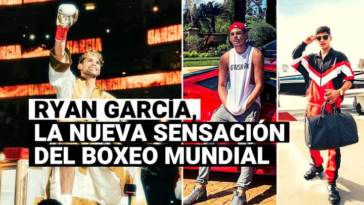 """Conoce a Ryan """"The Flash"""" García, la nueva sensación del boxeo mundial"""