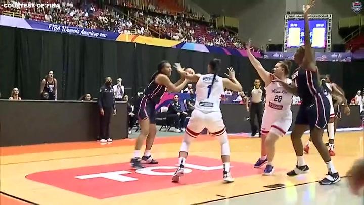 USA Women v Puerto Rico Highlights
