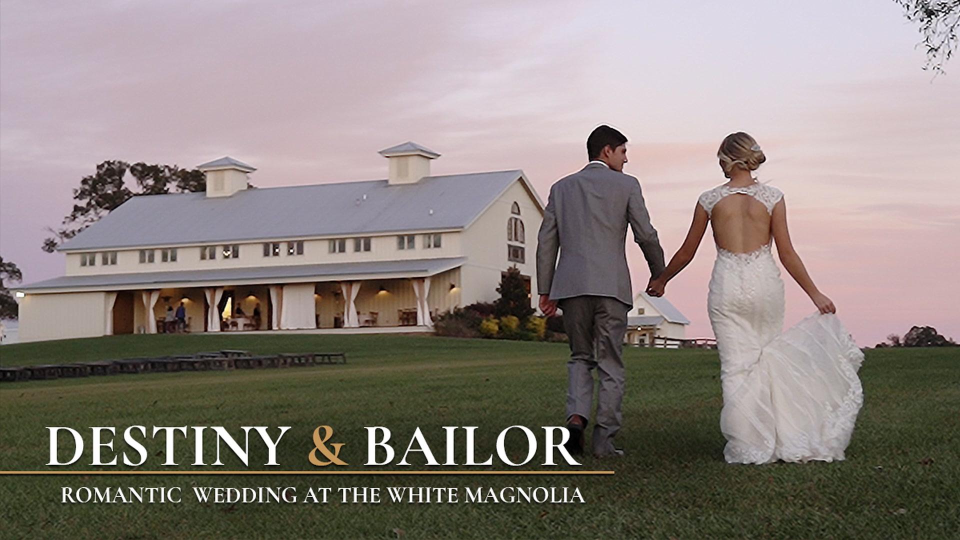 Destiny + Bailor | Kentwood, Louisiana | The White Magnolia