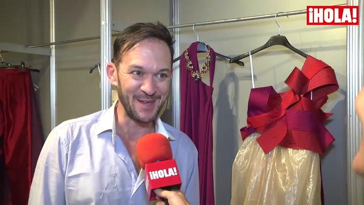 Ulises Mérida: \'¿Si estoy nervioso por mi debut en \'Fashion Week Madrid\'? ¡La verdad es que sí!\'