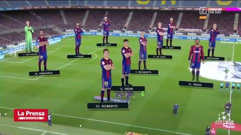 Barcelona 5-2 Getafe (Liga Española)