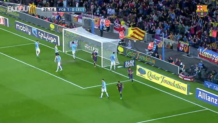 Throwback: Barça Vs Celta Vigo 2012