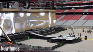 First Peek: U2 The Joshua Tree 2017 Production