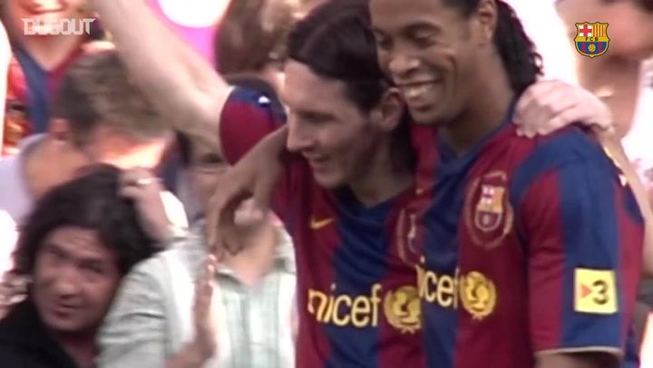 Leo Messi's Best 19 Strikes Wearing Number 19