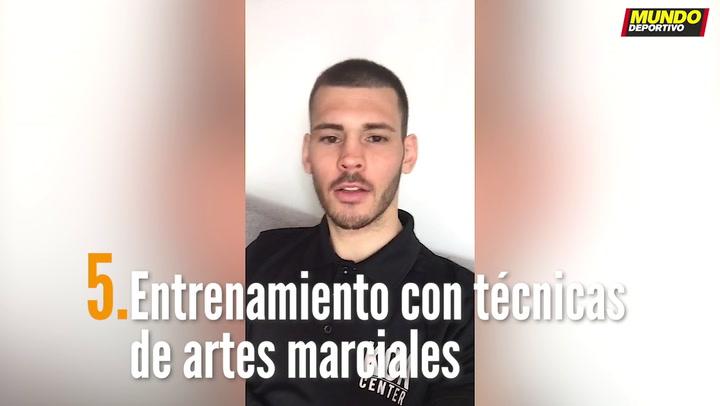 ENTRENA EN CASA (5):  Entrenamiento con técnicas de artes marciales