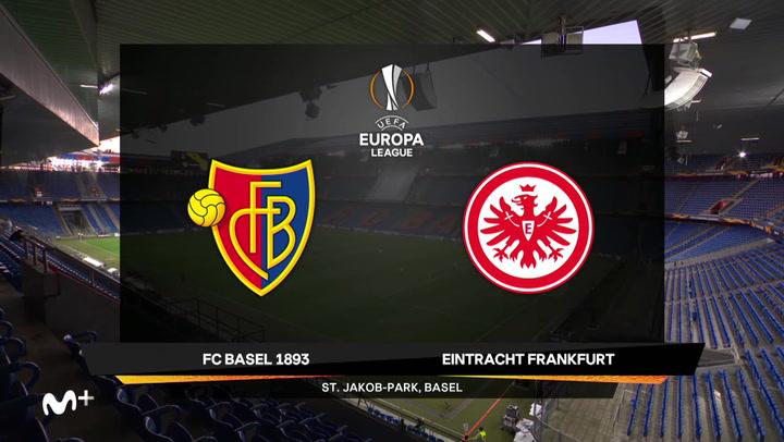 Europa League: Resumen y Goles del Basilea-Eintracht de Frankfurt
