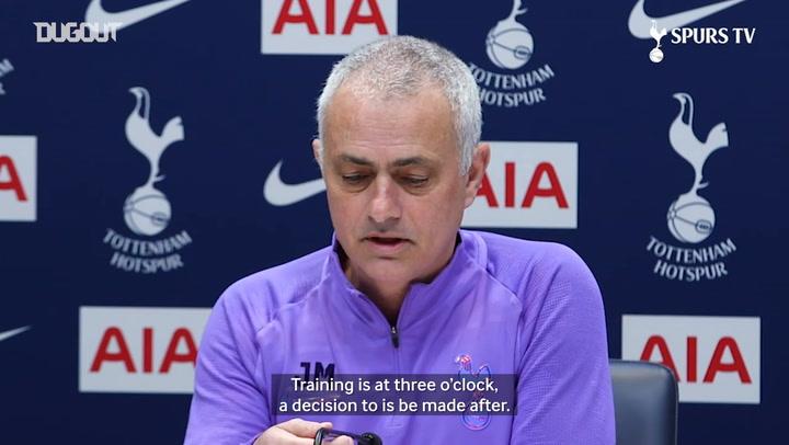 José Mourinho discusses player availability ahead of Burnley clash