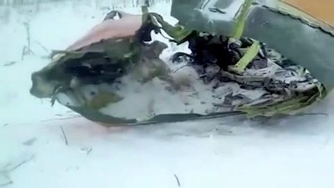 Mueren 71 personas al caer un avión en las afueras de Moscú