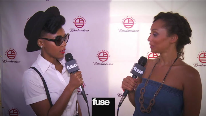 "Festivals: Made in America: JJanelle Monae on Jay-Z ""I'm Really Proud of Him"""