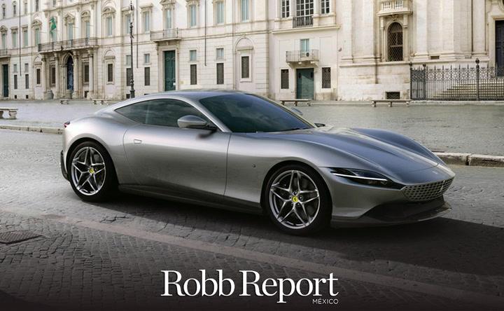 ¿Ya conoces el nuevo Ferrari Roma? El modelo elegantemente deportivo