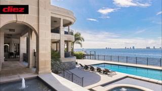 ¡Por dentro y por fuera!  La lujosa mansión que alquila Tom Brady puesta a la venta por 28 millones de dólares