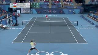 Zverev deja a Djokovic sin 'Golden Slam' y peleará por oro con Khachanov