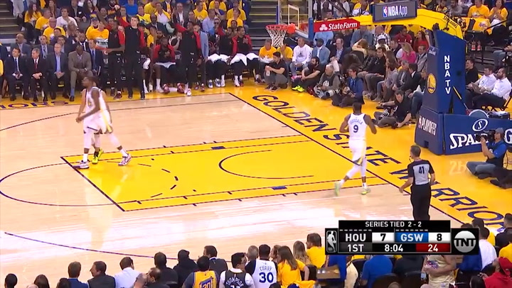 James Harden, mejor jugador de la jornada de playoffs de la NBA el 9 de mayo de 2019