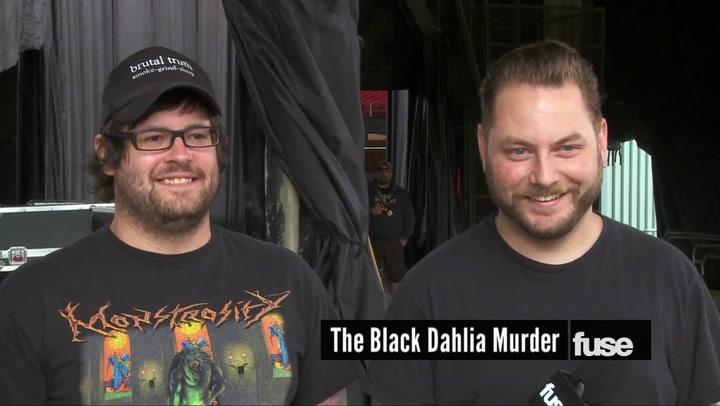 Festivals: Warped Tour: 2013: The Black Dahlia Murder interview