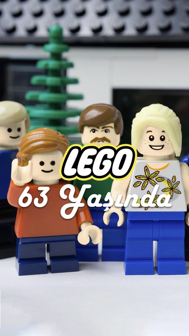 Hiç büyümeyen Lego 63 yaşında