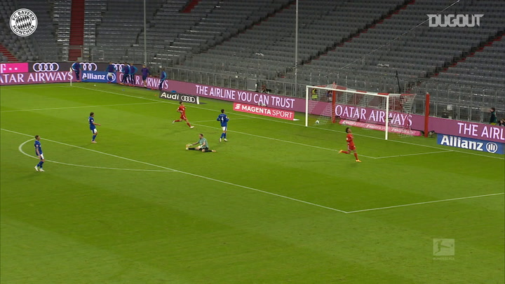 Leroy Sané scores first FC Bayern goal