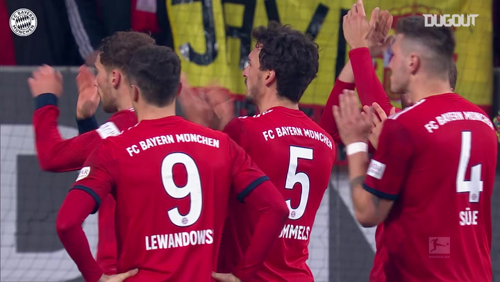 FC Bayern's incredible comeback vs FC Augsburg