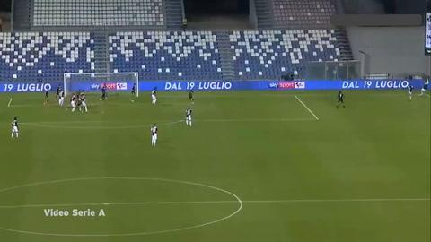 Sassuolo 3-3 Juventus (Serie A