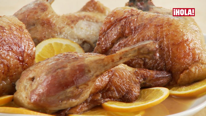Vídeo-receta: pato a la naranja