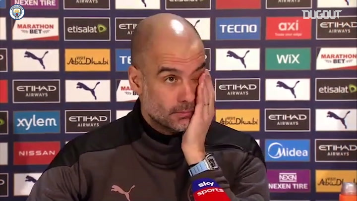 Pep: It's a coincidence we have done well since defeat to Spurs