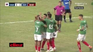 ¡Kevin Hoyos se estrena con Marathón y pone a ganar al Monstruo ante Honduras Progreso!