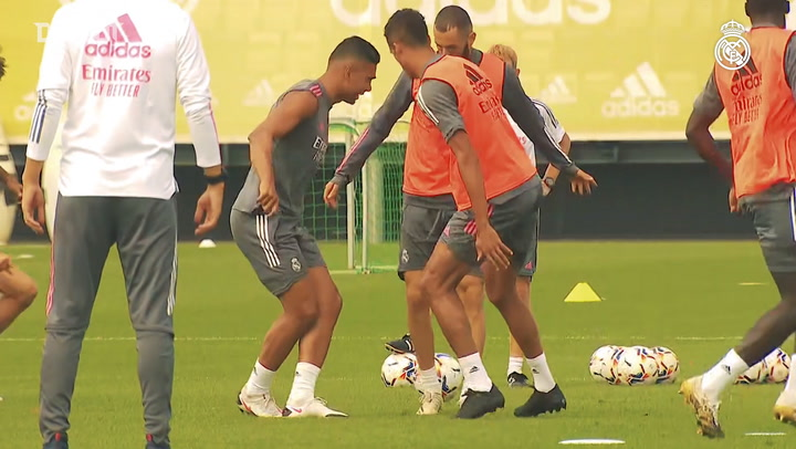 Real Madrid continue preparations for LaLiga opener