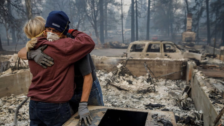 Paradise Lost: Californians See Their Town Destroyed by Wildfire
