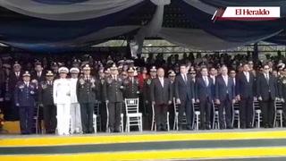 Así se desarrolló los ascensos de la Fuerzas Armadas de Honduras