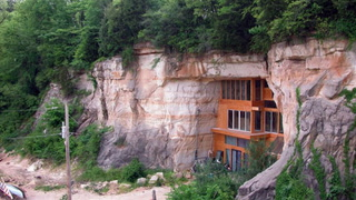 Check Out This Amazing Cave Home That Once Was a Roller Rink
