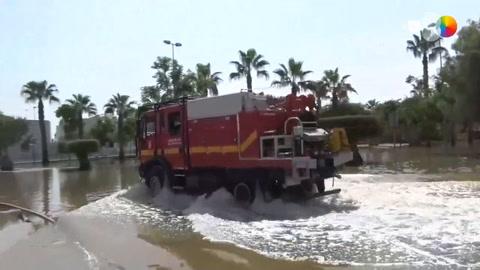 En busca de la normalidad en las zonas inundadas