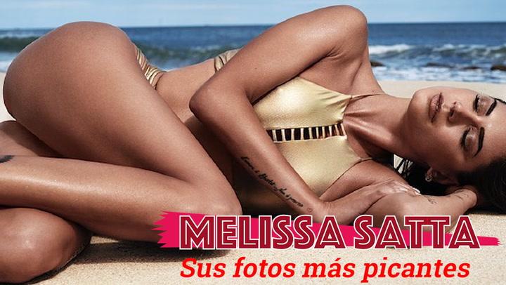 Las fotos más picantes de Melissa Satta