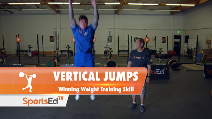 Vertical Jumps - Winning Weight Training Skill
