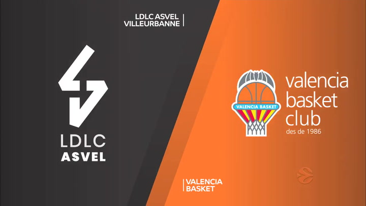 Euroliga: LDLC ASVEL Villeurbanne - Valencia Basket
